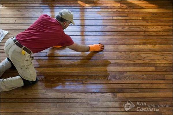 Чем покрасить деревянный пол в доме, на даче — покраска пола