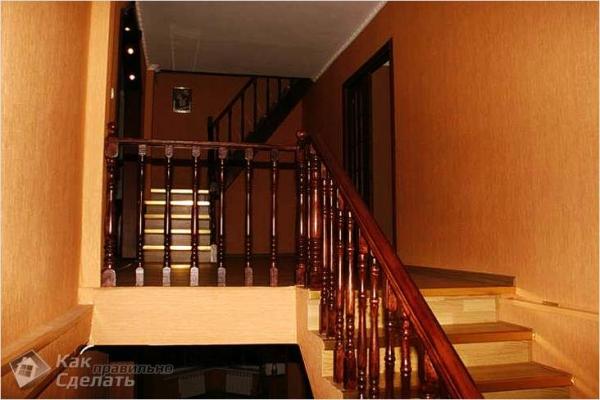 Как сделать лестницу на второй этаж своими руками — из дерева, металла, бетона (+фото)