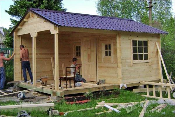 Сколько стоит построить садовый домик — стоимость строительства садового домика