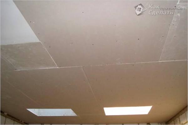 Как выровнять потолок гипсокартоном — выравнивание потолка при помощи гипсокартона