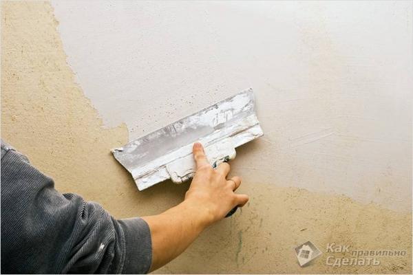 Выравнивание стен своими руками — как выравнивать стены под обои, по маякам