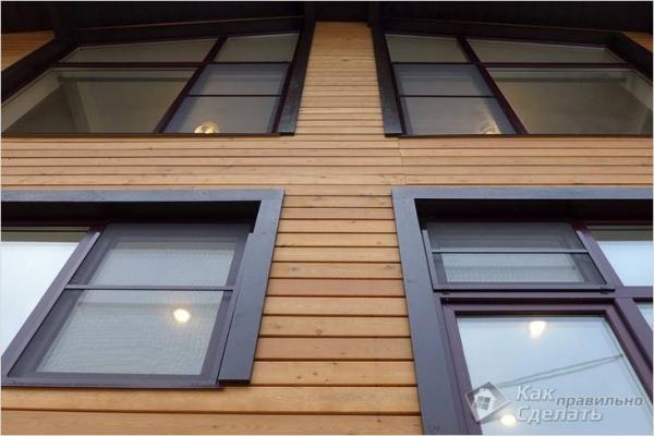 Отделка фасада планкеном — фасадная отделка планкеном