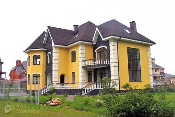 Дом из керамзитоблоков своими руками — дома из керамзитобетонных блоков