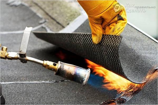 Как покрыть крышу рубероидом своими руками — особенности монтажа