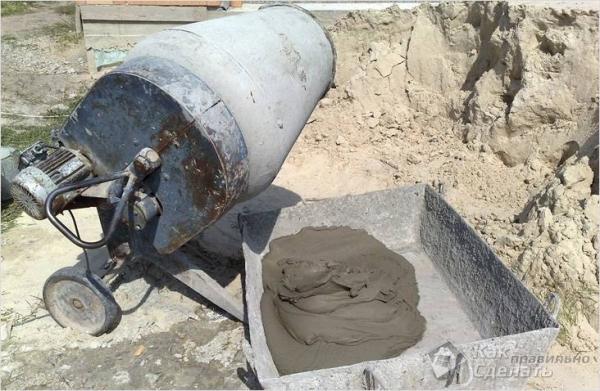 Как правильно разводить цемент без песка — для фундамента