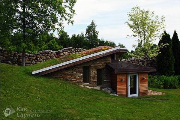 Как сделать газон на крыше — особенности и монтаж