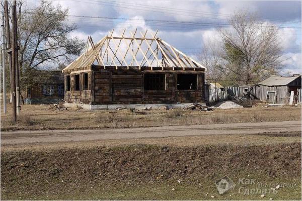Дом из шпал своими руками — использование шпал в строительстве домов (+фото)