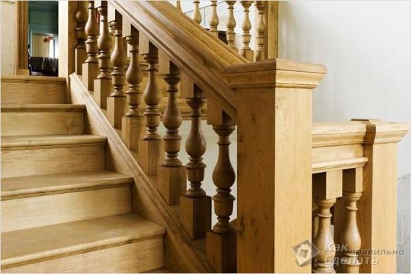 Чем покрасить деревянную лестницу — покраска деревянной лестницы