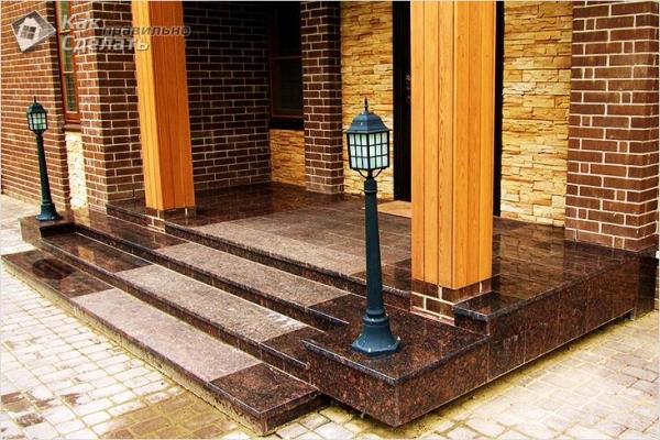 Как сделать бетонное крыльцо — пошаговая инструкция