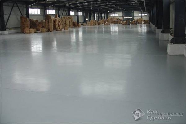 Как правильно сделать бетонный пол — пол из бетона